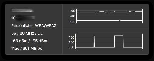 WLAN Monitor Fenster